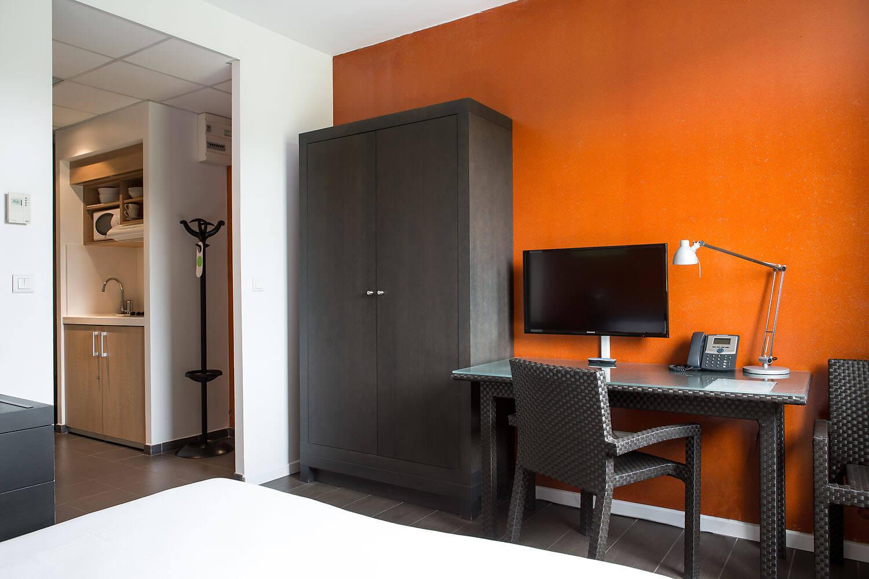 hôtel Lille studio Olivarius Apart'hotels Lille Villeneuve d'Ascq