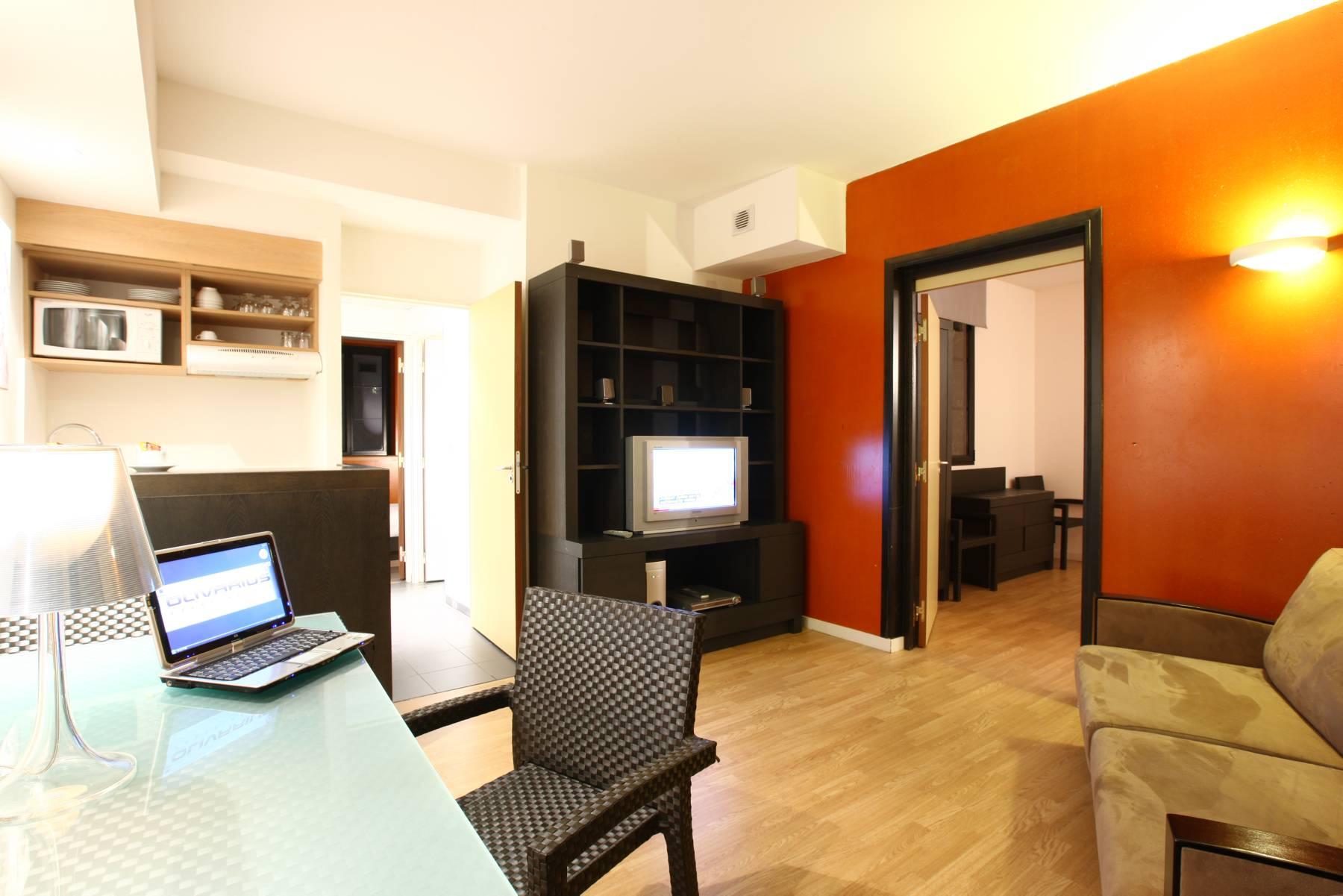 hôtel Lille appartement 3 pièces Olivarius Apart'hotels Lille Villeneuve d'Ascq