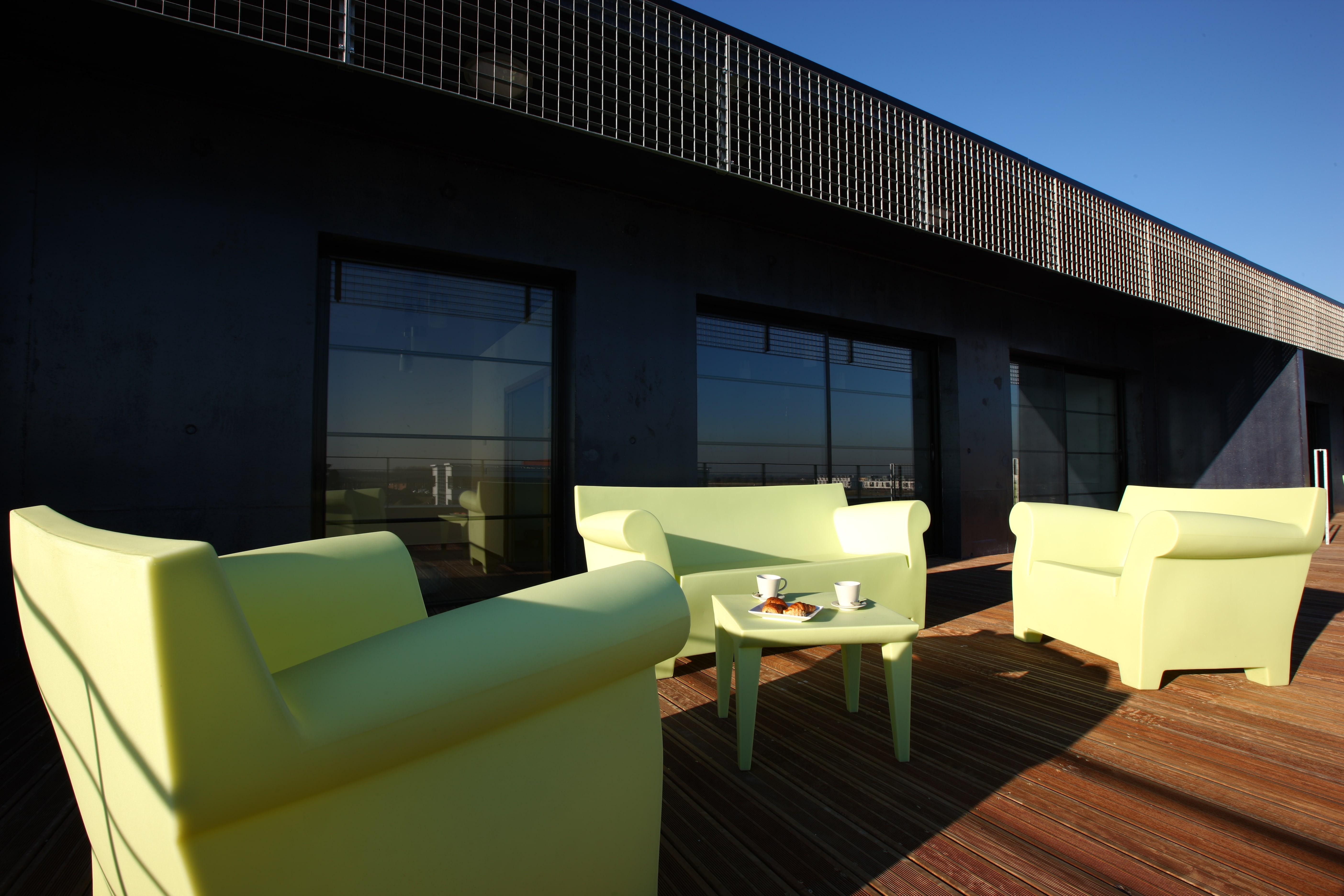 hôtel Lille location appartement terrasse Olivarius Apart'hotels Lille Villeneuve d'Ascq