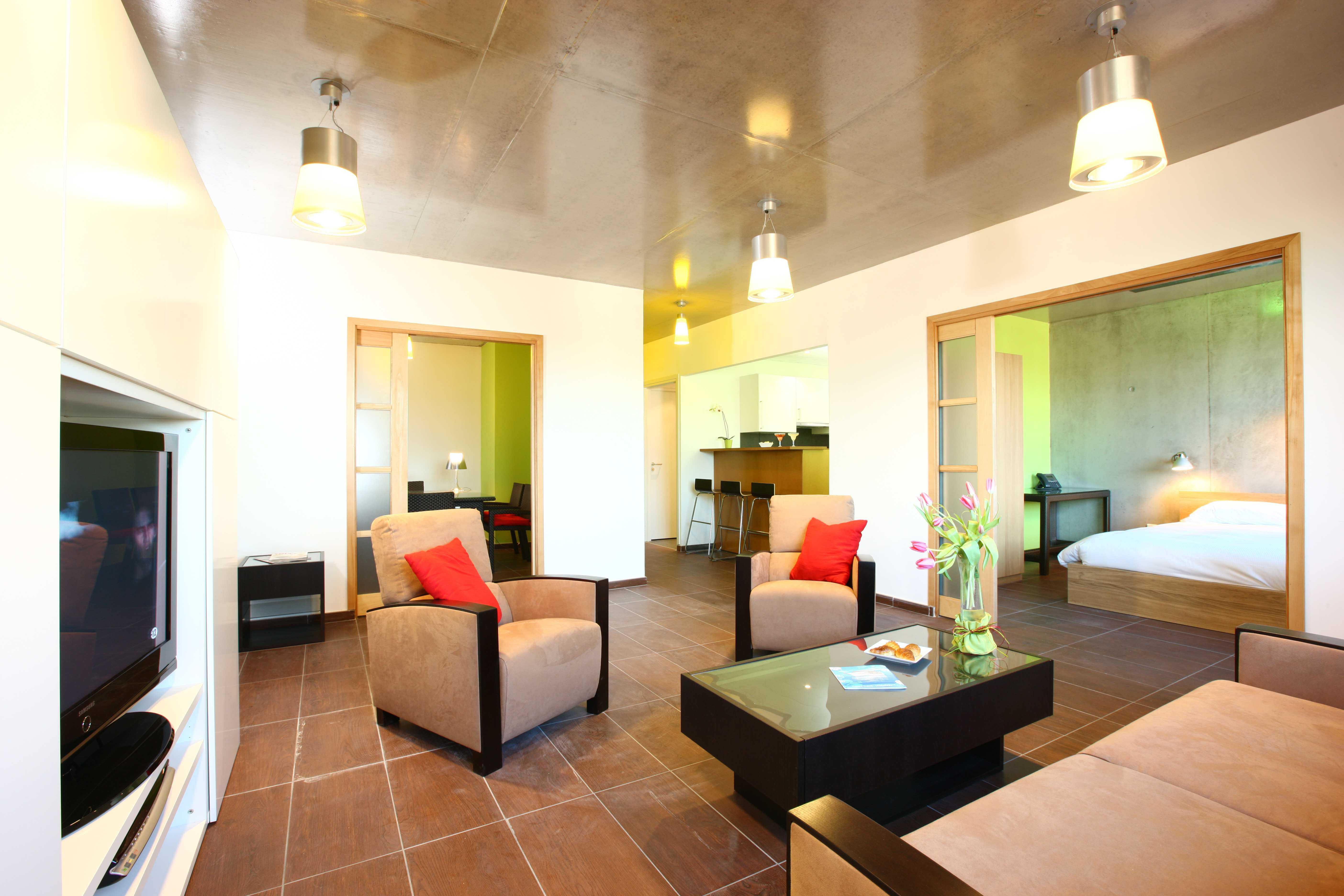 hôtel Lille appartement 3 pièces affaires deluxe Olivarius Apart'hotels Lille Villeneuve d'Ascq
